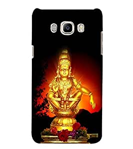 Lord Ayyappa 3D Hard Polycarbonate Designer Back Case Cover for Samsung Galaxy J5 2016 :: Samsung Galaxy J5 2016 J510F :: Samsung Galaxy J5 2016 J510FN J510G J510Y J510M :: Samsung Galaxy J5 Duos 2016