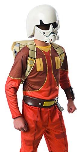 Rubie' s ufficiale Disney Star Wars missione 2Casco, Costume per bambini, taglia unica