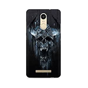 Mobicture Skull Abstract Premium Printed Case For Xiaomi Redmi Note 3