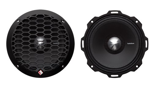 "2) Rockford Fosgate Pps4-6 6.5"" 400 Watt 4-Ohm Midrange Car Loudspeakers Speaker"