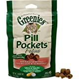 GREENIES FELINE PILL POCKETS for Cat Salmon 45 count