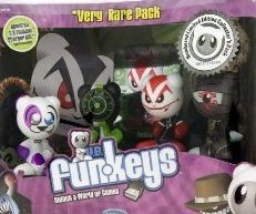 Buy Low Price Mattel UB Funkeys Dream State VERY RARE 4 PACK Figure (B001OBLIN2)