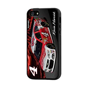 NASCAR Kevin Harvick 4 Budweiser iPhone 5 5S Rugged Case by Keyscaper