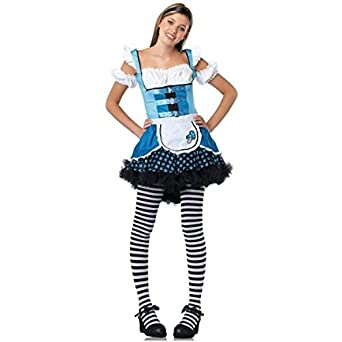 Teen Magic Mushroom Alice Costume