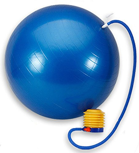 Alternative Toy Wetpia Yoga Fitness Ball for Exercise and Balance Gymnastic Elasticity, Peanut Thickened Posture Balls for Women Men Adult Sex Games Sofa, Sex Product(Blue Ball-75cm)