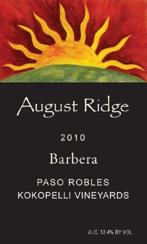 2010 August Ridge Barbera 750 Ml