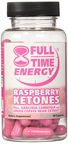 Full-Time Energy Pure Raspberry Ketones plus Garcinia Cambogia and Green Coffee Bean Extract Complete Complex - Lose Weight and Burn Fat With This Extreme Weight Loss Formula - Diet Pills - The Best Natural Fat Burners - Weight Loss Supplements That Works Fast for Women and Men (Garcinia Full Time Energy compare prices)