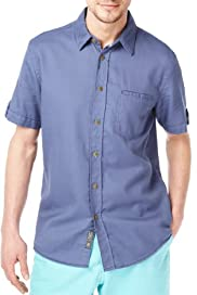 North Coast Pure Cotton Short Sleeve Waffle Shirt [T25-4245N-S]