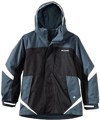 Columbia Bugaboo Interchange Jacket, Black / Mystery, 18/20
