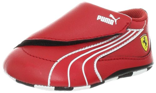 PUMA Drift Cat 4 L SF Crib Fashion Sneaker (Infant/Toddler/Little Kid/Big Kid),Rosso Corsa/Rosso Corsa/White,4 M US Toddler