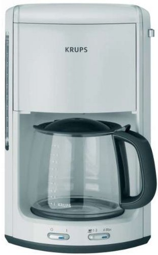 Krups F MD2 41 ProAroma Plus white coffee maker