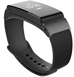 Huawei Talk Band B2 Earpiece Smart Bracelet Fitness Wearable Sports Bluetooth Watch - Black