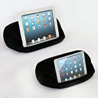 LAP PRO - MINI Universal Beanbag Lap Stand For Ipads All Generations Android Tablets - Bed Couch Travel - Adjustable...
