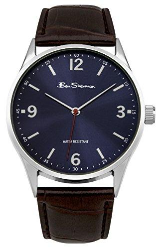 ben-sherman-orologio-analogico-da-polso-uomo-cinturino-in-pu-marrone