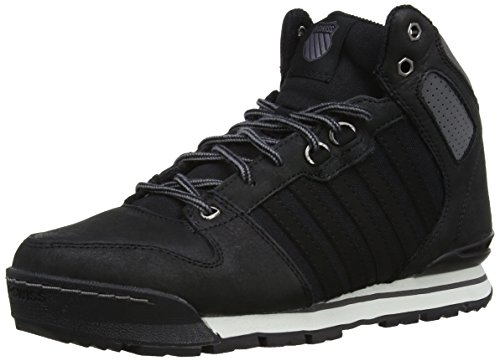 K-Swiss SI-18 PREMIER HIKER, Sneaker a collo alto Uomo, Nero (Schwarz (BLACK/CHARCOAL/006)), 41 (7 uk)