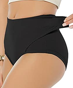 YIANNA Women's Adjustable Belly Wrap Postpartum Control Panties Slimmer Briefs