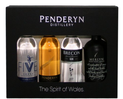 Penderyn Gift Spirits Minatures 4 x 5cl