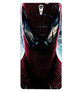 ColourCraft SuperHero Design Back Case Cover for SONY XPERIA C5 E5553 / E5506