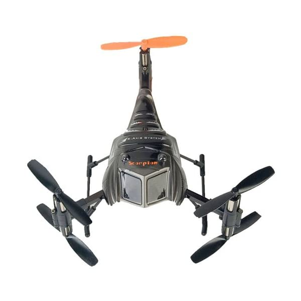 Chengxing-Scorpion-S-Max-RTF-3D-Tumbling-Six-Axis-4ch-24Ghz-Micro-RC-Multi-Rotor-Quadcopter-Heli-Silver