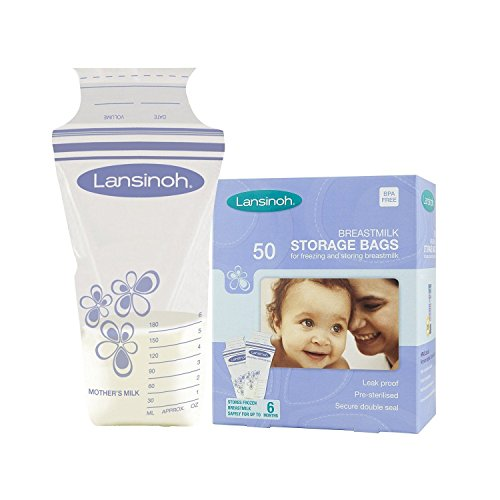 Mouse over image to zoom Lansinoh Baby Breast Milk Storage Bags 50 Pieces Double Pre Sterilized