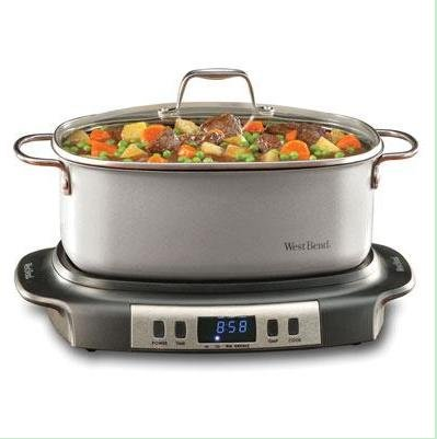 Digital Slow Cookers: Focus Electrics West Bend Versatility 84966 Slow Cooker 1.50 Gal