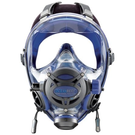 Ocean Reef Diving Mask Neptune Space G.divers OR025015 Cobalt M/L Medium/Large (Full Face Scuba Mask compare prices)