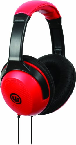 Wicked Wi8202 Reverb Headphone - Black/Red