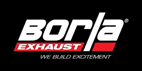 BORLA 11843 Rear Section Exhaust System for Subaru Impreza/XV Crosstrek (Subaru Impreza Exhaust Kit compare prices)