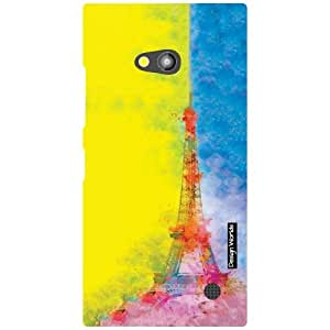 Design Worlds Nokia Lumia 730 Back Cover - dazzling Designer Case and Covers