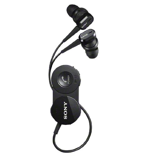 Sony Dr-Bt150Nc-B Black | In-Ear Bluetooth Wireless Noise Canceling Headphones (Japanese Import)