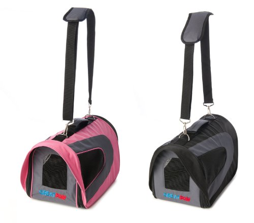 Great Paw Intrepid Soft Pet Carrier, Large, Pink