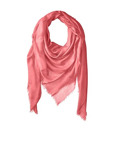 Chan Luu Women's Oversized Cashmere and Modal Scarf, Peony