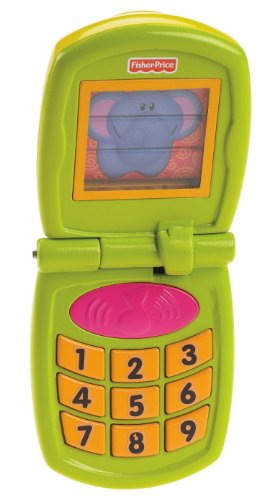 Fisher-Price Growing Baby Fun Sounds Flip Phone - 1