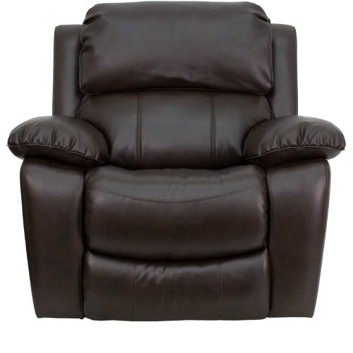 Reclining Rocker By Flash Furniture  sc 1 st  For Big And Heavy People & Big u0026 Oversized Big Man Recliners | For Big And Heavy People islam-shia.org