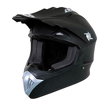 Casque Moto cross Marvin uni Noir mat Taille M