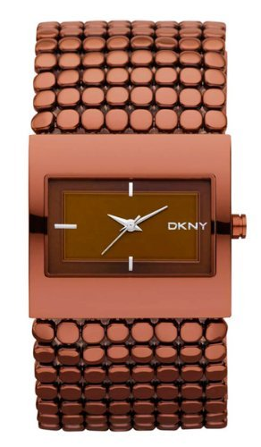 DKNY Steel Bracelet Brown Dial Women's Watch #NY8394
