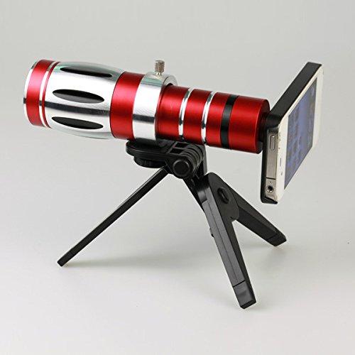 Giftsbox 20X Telescope Camera Lens Aluminum Mobile Phone Telephoto Lens For Iphone 5