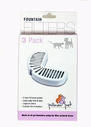 PIONEER PET REPLACEMENT FILTERS 3-PER PACK, (6 PACKS, 18 FILTERS)