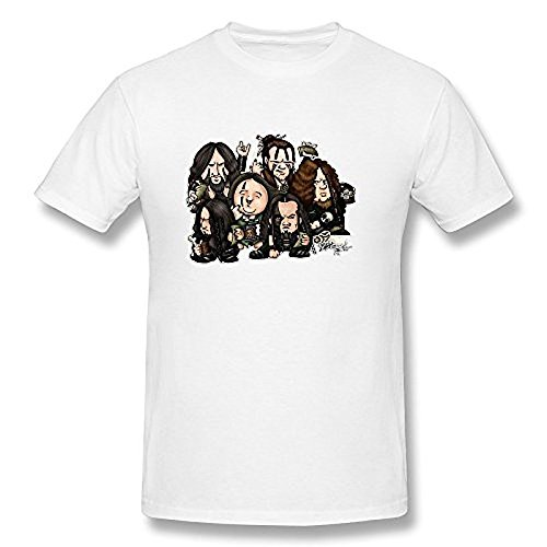 Men's Cartoon Korpiklaani T Shirt White