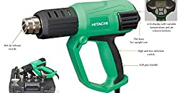 Hitachi RH650V Heat Gun / Hot Air Gun 2000W with LCD display and Attachments