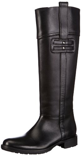 Buffalo London 1001-4 N COW Boots Womens Black Schwarz (BLACK 01) Size: 4 (37 EU)