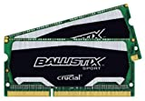Crucial 8GB (2x 4GB) Ballistix Sport Simm So DDR3 PC1600 Internal Memory