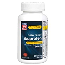 Rite Aid Ibuprofen, 200mg, Coated Brown Tablets