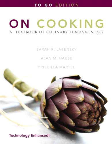 On Cooking: A Textbook of Culinary Fundamentals