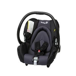 Safety 1st 85994411 - Mimas Babyschale, Autokindersitz ECE Gruppe 0+, von der Geburt bis maximum 12 Monate, Black Sky