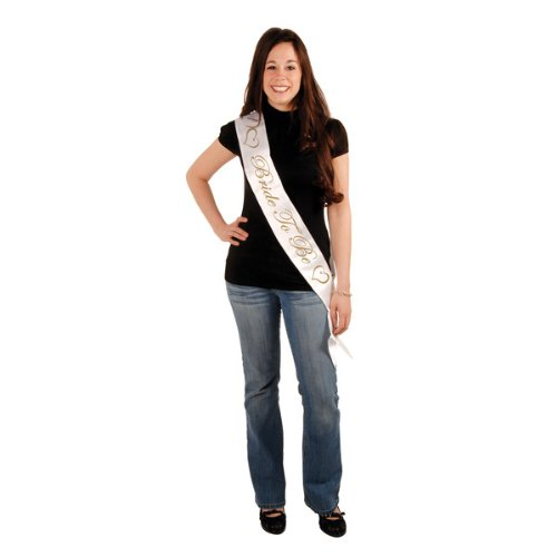Bride To Be Satin Sash Party Accessory (1 count) (1/Pkg)