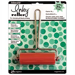 Ranger Inky Roller Brayer, Medium 3-5/16-Inch
