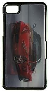 Zeztee ZT4544 3D Design Plastic Mobile Back Cover For Blackberry Z10 (Multicolor)