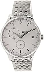 Tissot T-Trend Tradition White Dial Stainless Steel Men's Watch T0636391103700