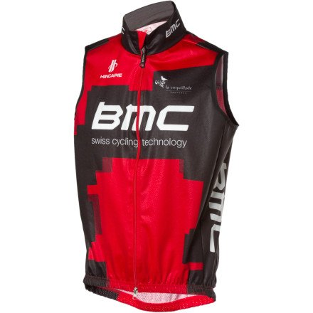 Buy Low Price Hincapie Sportswear 2012 BMC Team Windtex Vest – Men's (B007CI008U)